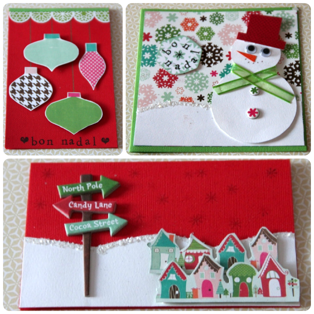 Postales de navidad xeniacrafts x nia crafts pinterest crafts navidad and 02 - Ideas para una postal de navidad ...