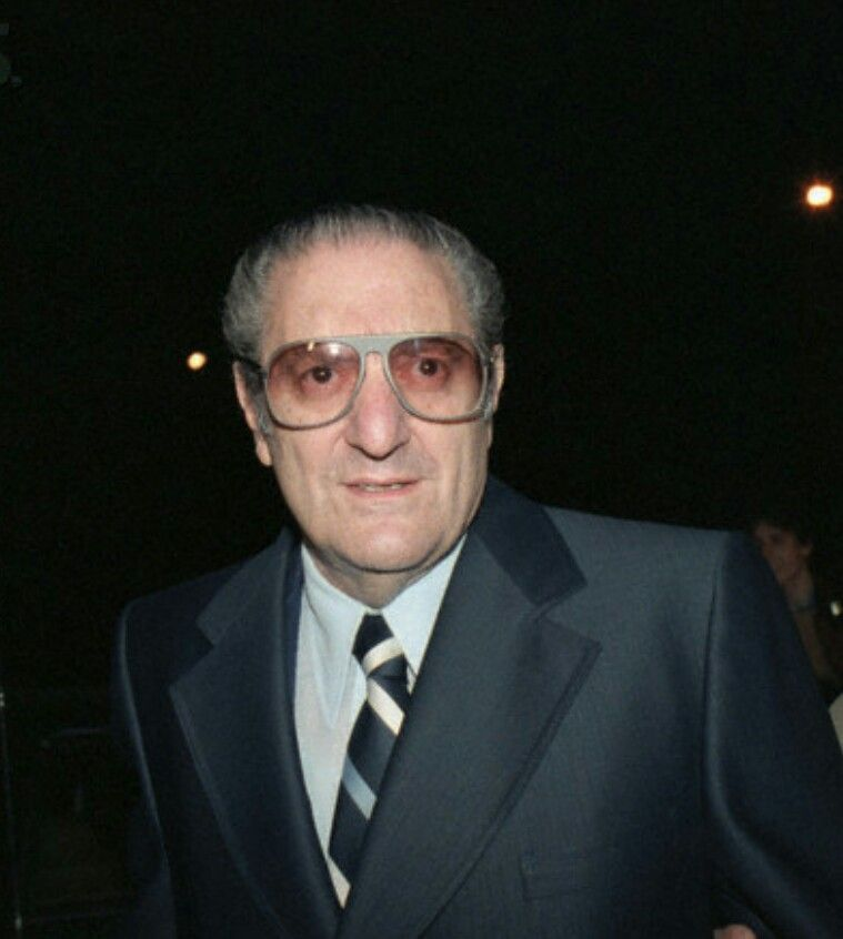 Big Paulie Castellano Gambino Boss Who Ate Alone At The Top Mafia Gangster Mobster Mafia Families