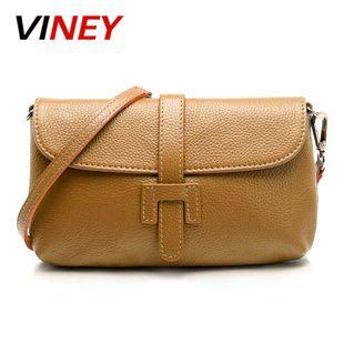 5150d004c1 Viney Handbags Ms. Bags New Korean Cowhide Portable Shoulder Oblique  Satchel Bags Packet Clutches 15610521174