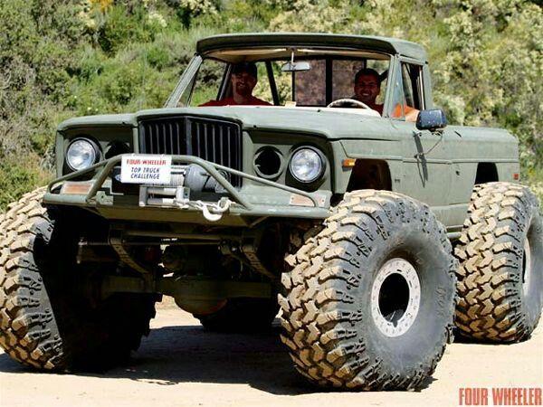 John Cappa 2005 Top Truck Challenge J2000 Jeep Truck On 49