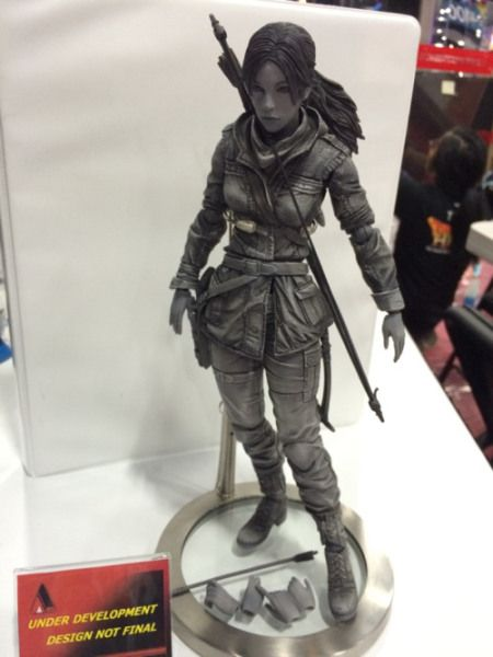 Rise Of The Tomb Raider Art Book And Play Arts Kai Figure Announced