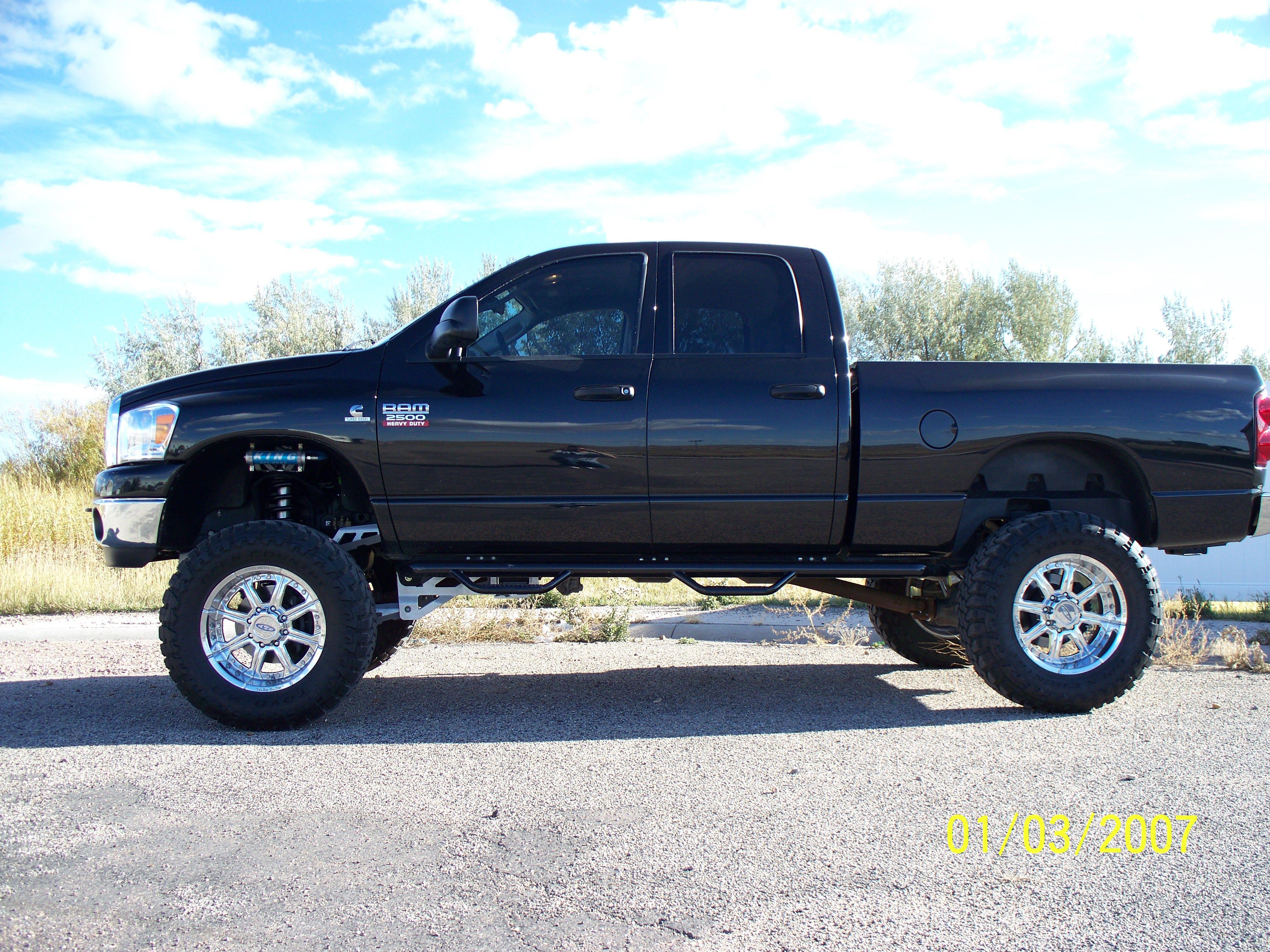 offroad custom trucks | Customer Ride: Dodge 2500 4X4, Rize Lift ...