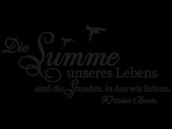 Wilhelm busch zitate hochzeit