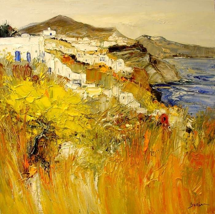 Landscape Painting by Jean Paul Surin French Artist ~ Blog of an Art Admirer