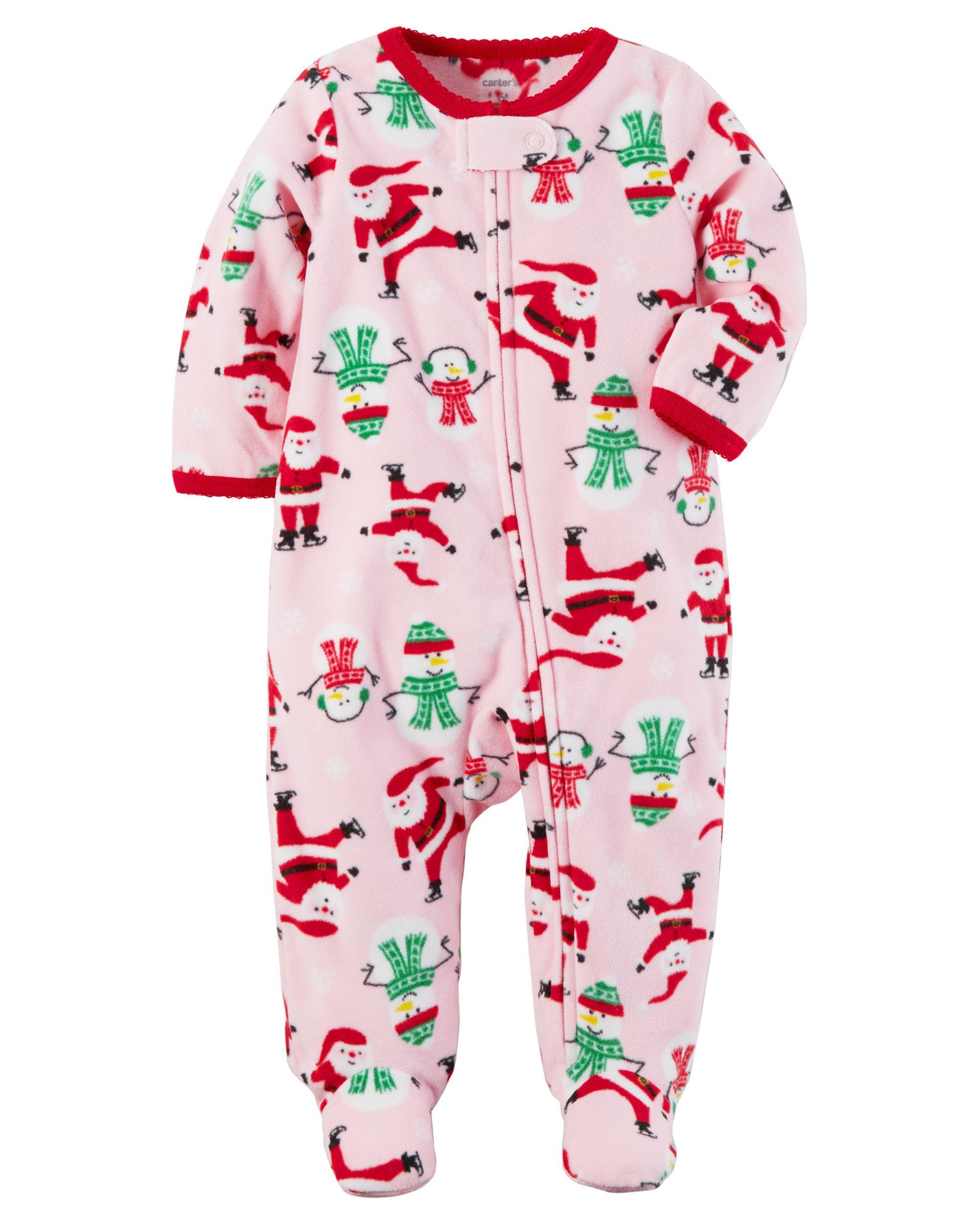 6ddf897dda01 Fleece Zip-Up Christmas Sleep   Play