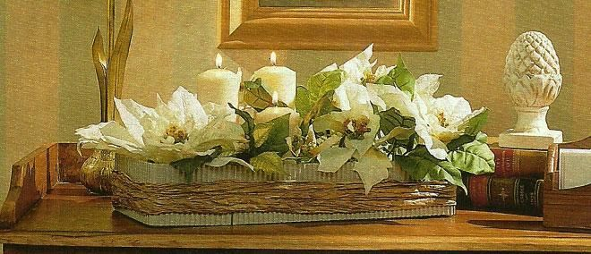 Centros de mesa para navidad bouquets boutonniere - Como hacer centros navidenos ...