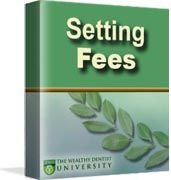A successful dental practice absolutely must raise fees regularly.    This online video tutorial reviews strategies for how to set dental fees and provide articles that dentists can share with a dental team.