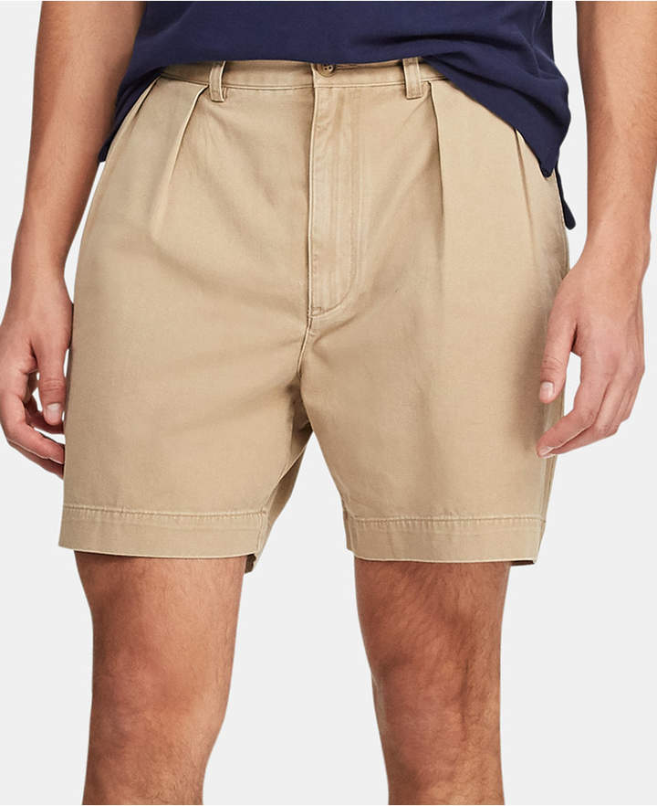0afaad8fc084 Polo Ralph Lauren Men Relaxed-Fit Pleated Shorts | Products in 2019 ...