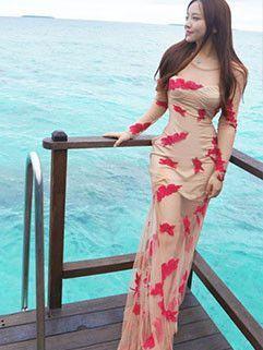 Whole sale Summer Hot Straps Lace Two Pieces Dresses