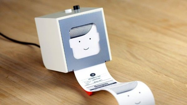 Berg's Little Printer - like a tiny personal printing press: put it somewhere in…
