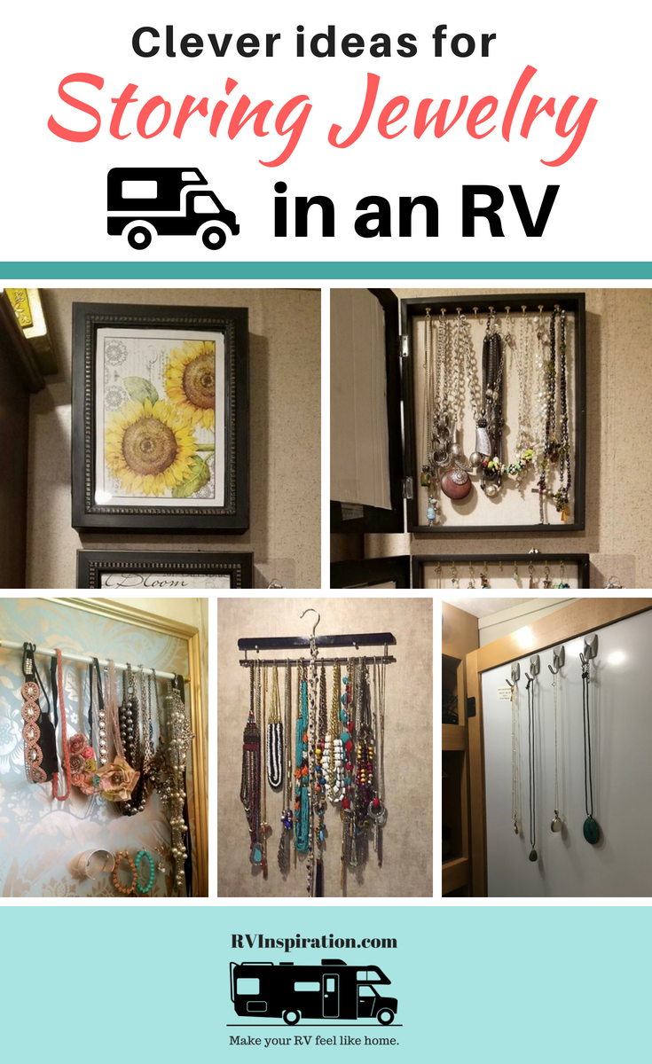 Storage hacks for displaying and organizing jewelry in