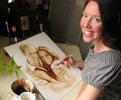 art with coffee - Google Search