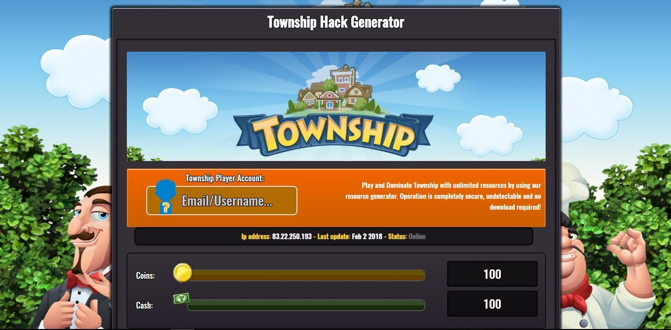 Township Hack 2018 - Unlimited Cash and Coins No Survey [No