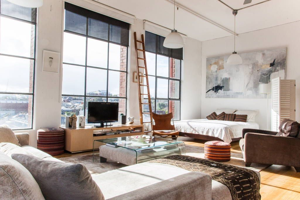 New York Style Loft In Melbourne Lofts For Rent In Richmond Loft Style Apartments New York Studio Apartment Lofts For Rent
