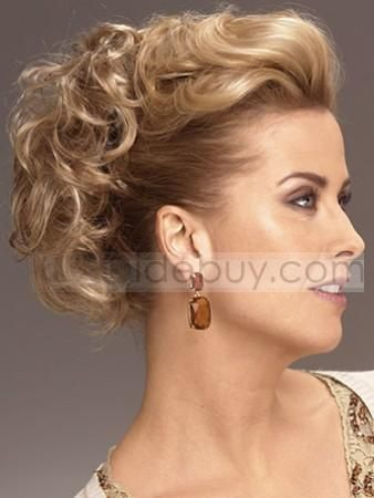 Hair Addition Updo Curls Magic Comb Hairpiece Wig Wrap In