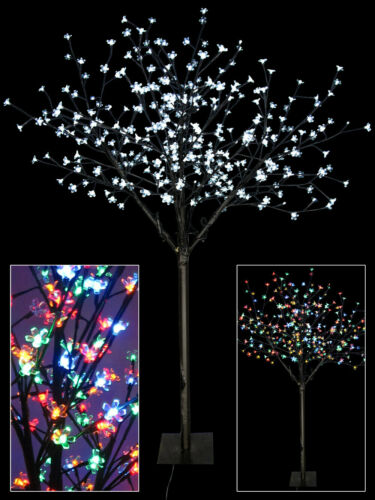 Dual Colour Sequence Led Cherry Blossom Tree 1 7m Ebay Cherry Blossom Tree Blossom Trees Flower Lights