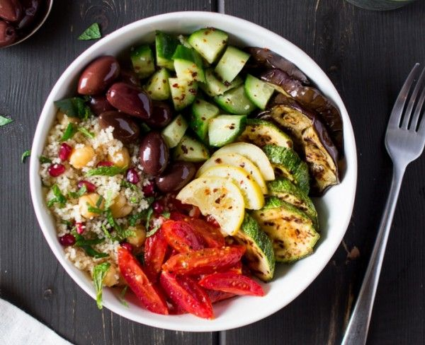 Marokkaanse salade   - 5 super gezonde food bowls die je binnen 30 minuten maakt  - Food - Lifestyle