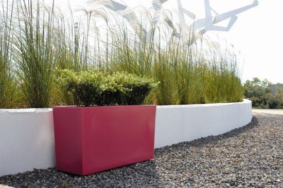 maceta moderna - Buscar con Google jardin Pinterest Macetas - jardineras modernas