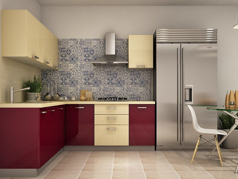 Pin by The Muse Inc. on kitchen | L shaped modular kitchen ...