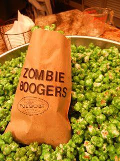 Zombie boogers hahaha boogers & brains!!!! | Holiday Fun ...