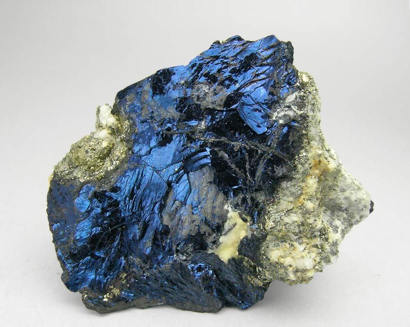 Covellite with Pyrite