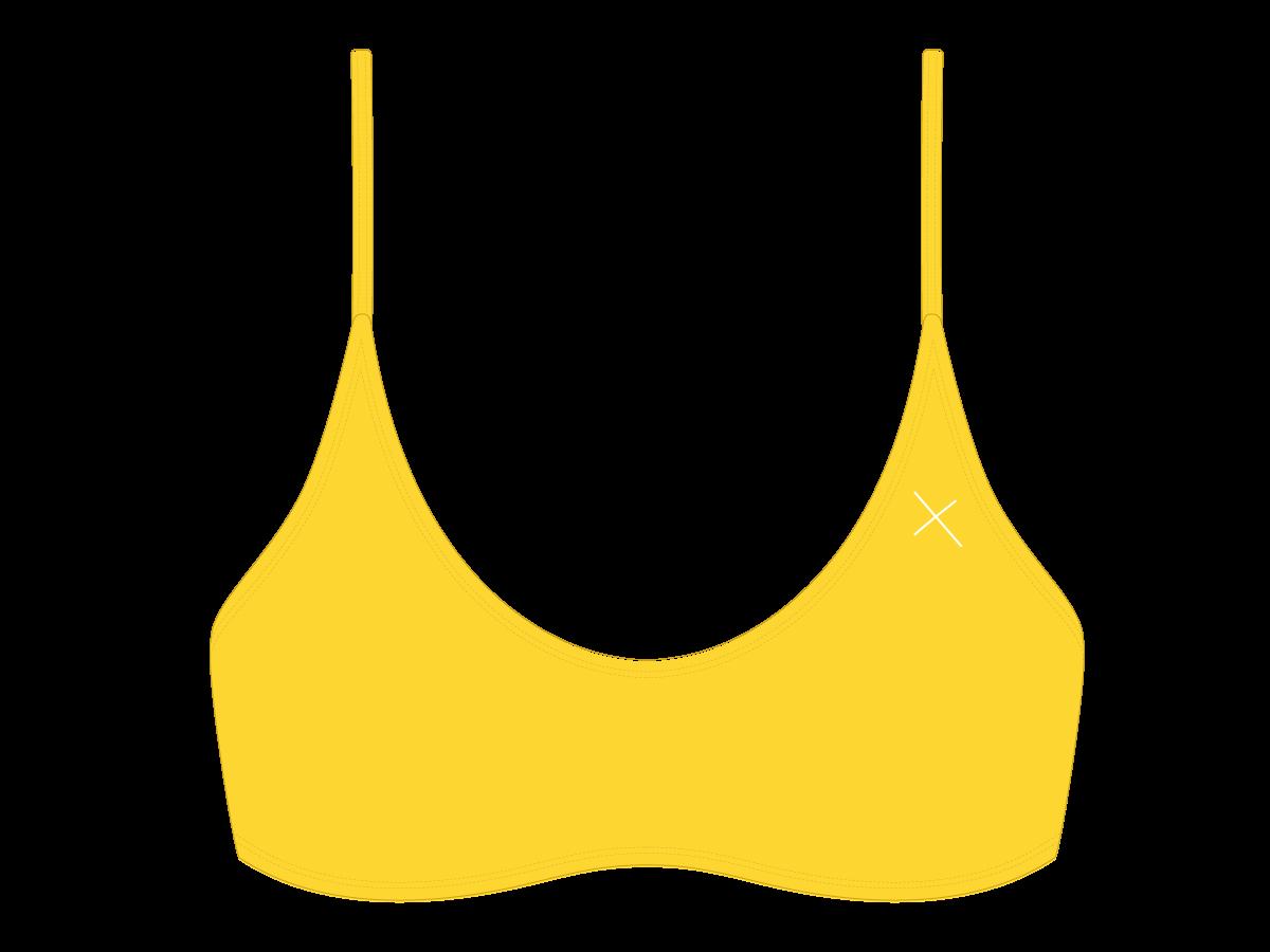 3249bb308 Black Fitted Yoga Bikini Top - by Boutine LA | clothing??/style