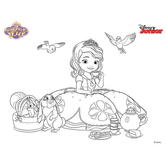 ダウンロード ディズニーキッズ Disney Jp ディズニープリンセスの塗り絵 ぬりえ ディズニー 塗り絵 キャラクター