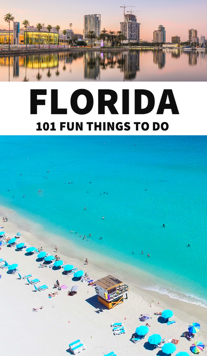 Florida Bucket List 101 Things To Do In Florida Florida Travel Orlando Travel Best Places To Travel