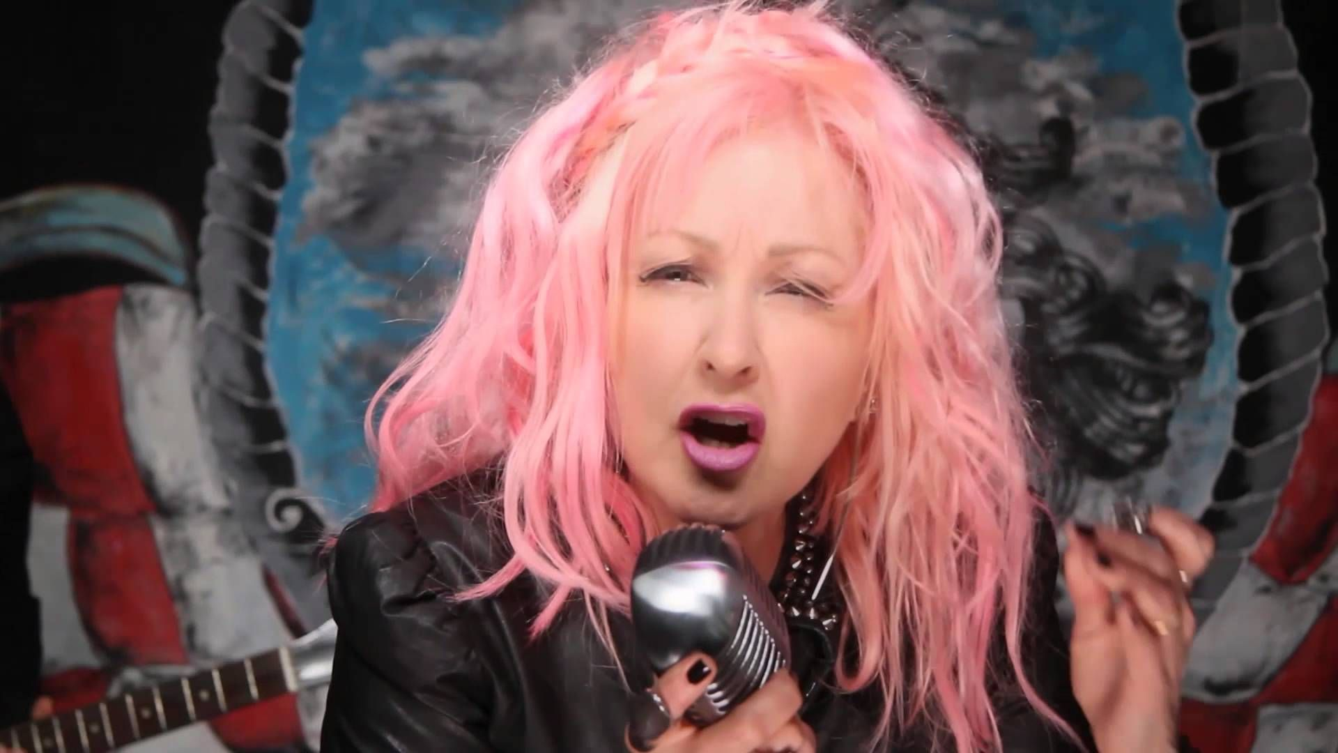 """Cyndi Lauper """"Funnel of Love"""" [Official Music Video"""