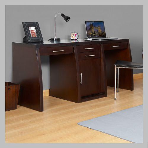 escritorio de dos puestos em escritorio de dos puestos con diseo moderno hecho