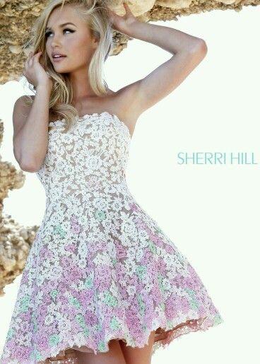Dress. Sherri Hill Prom Dresses ShortFloral ...