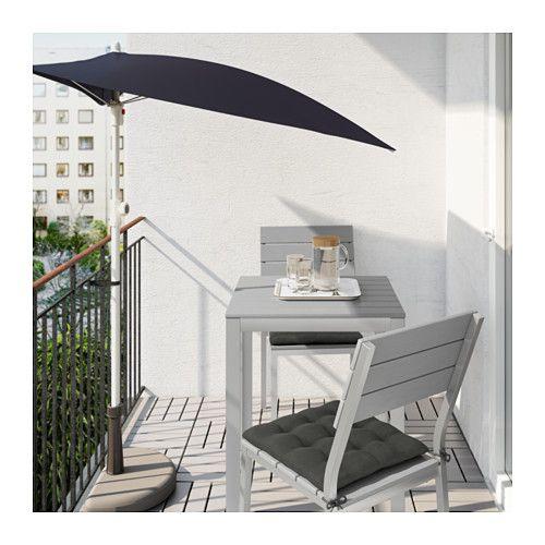 FALSTER Tafel, buiten - grijs - IKEA