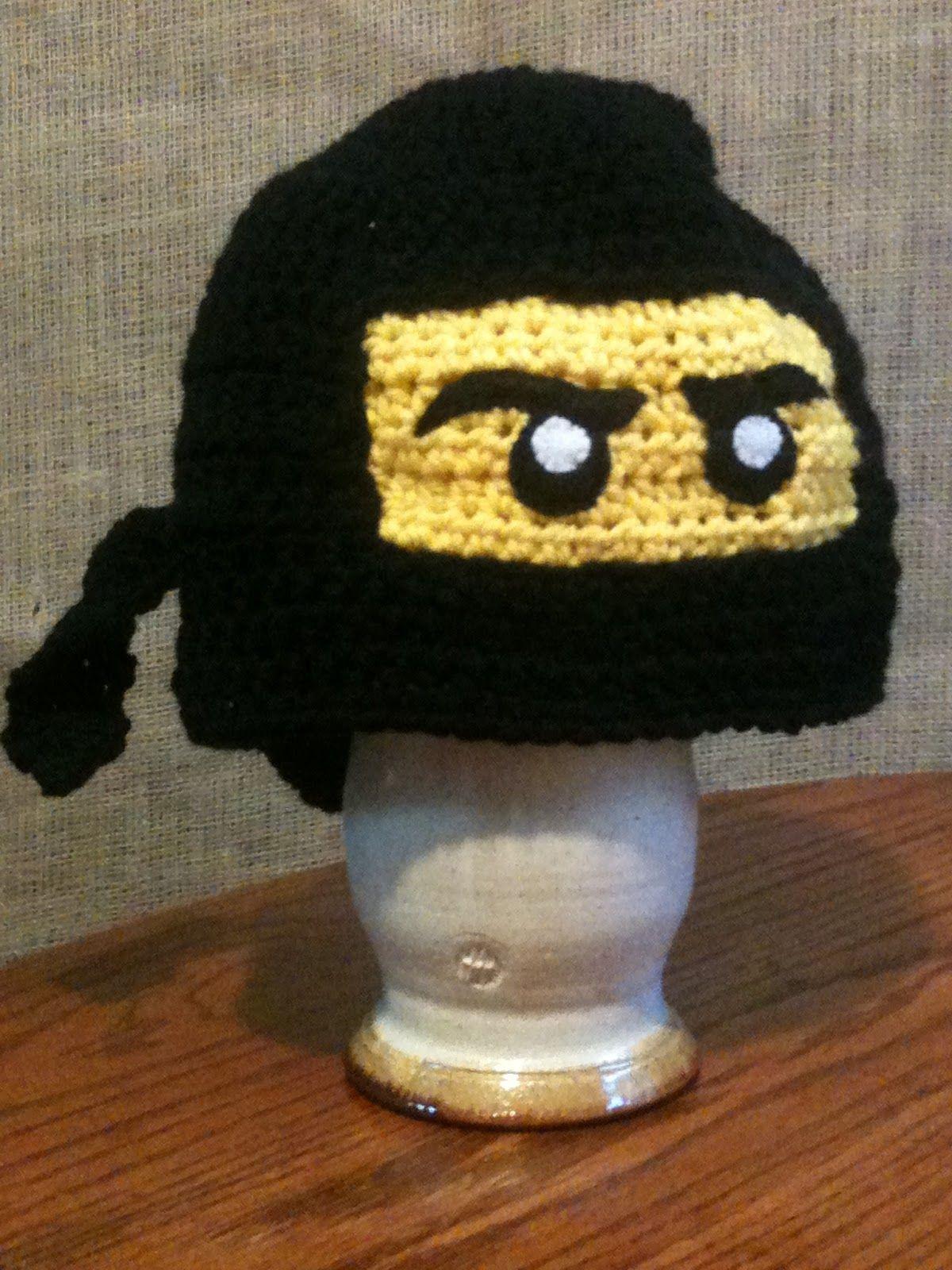 Penny Saving Momma Black Lego Ninjago Hat Muts Haken Pinterest
