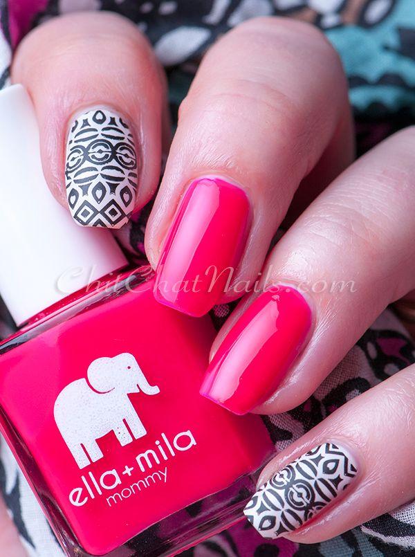 Ella+Mila: ☆ Melonade ☆ ... plus stamping nail art using Bundle ...
