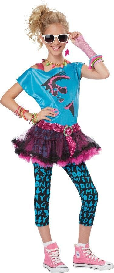 80S Valley Girl Twn Lg 10-12 Valley girls, Girls and 80s party - halloween costume ideas for tweens