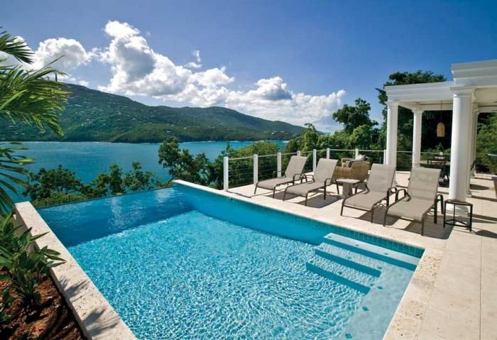 The Premier Vacation Al Villa With A Million Dollar View On St Thomas Us Virgin Islands