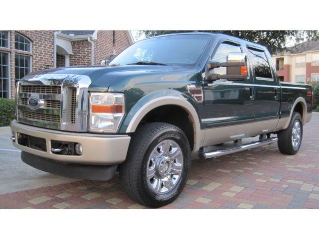 2008 Ford F250 Diesel 4x4 Superduty King Ranch Crewcab Sunroof