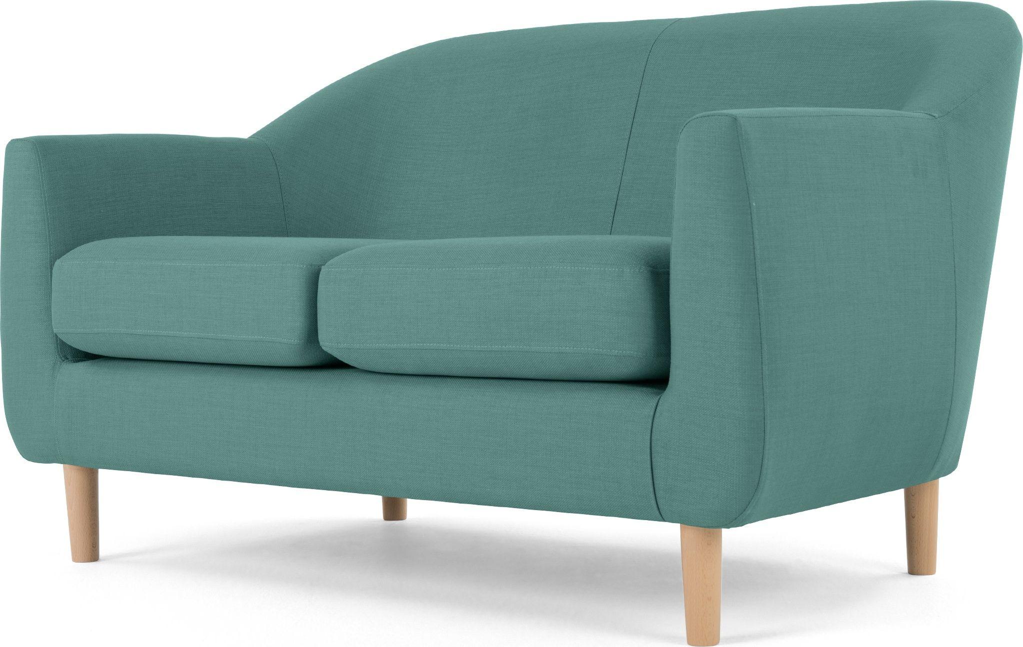 Made Soft Teal Sofa 2 Seater Sofa Teal Sofa Sofa
