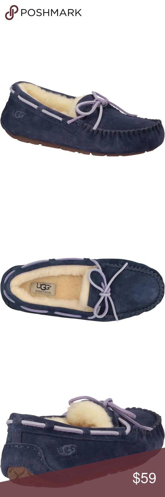 Ugg Dakota Navy Blue Slippers Womens 5