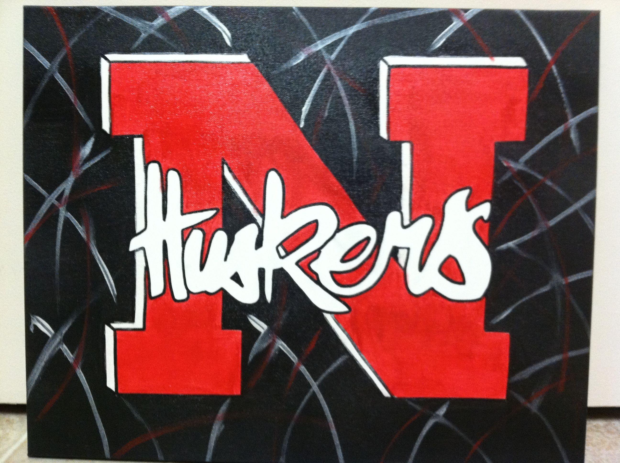 Husker Canvas Husker Husker Football Nebraska Huskers