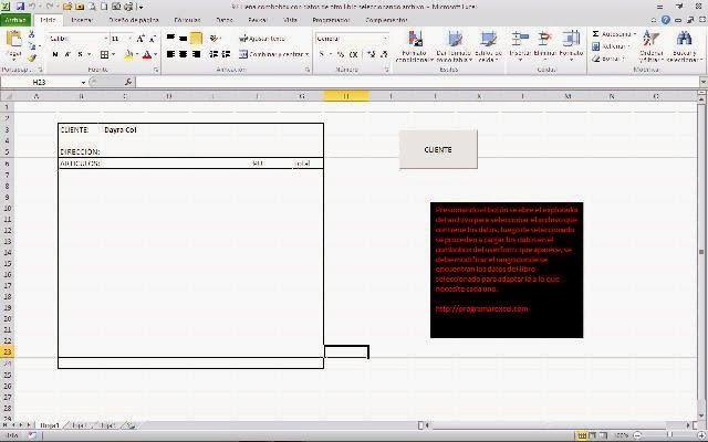 Programar En Vba Macros Para Excel Llenar Combobox Seleccionando Archivo Con Explorad Macros Archivadores Programar