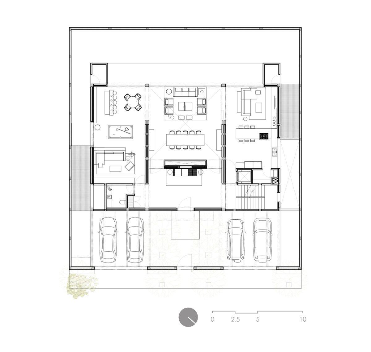 Campo baeza domus aurea monterrey 10 viviendas - Planos de casas unifamiliares ...