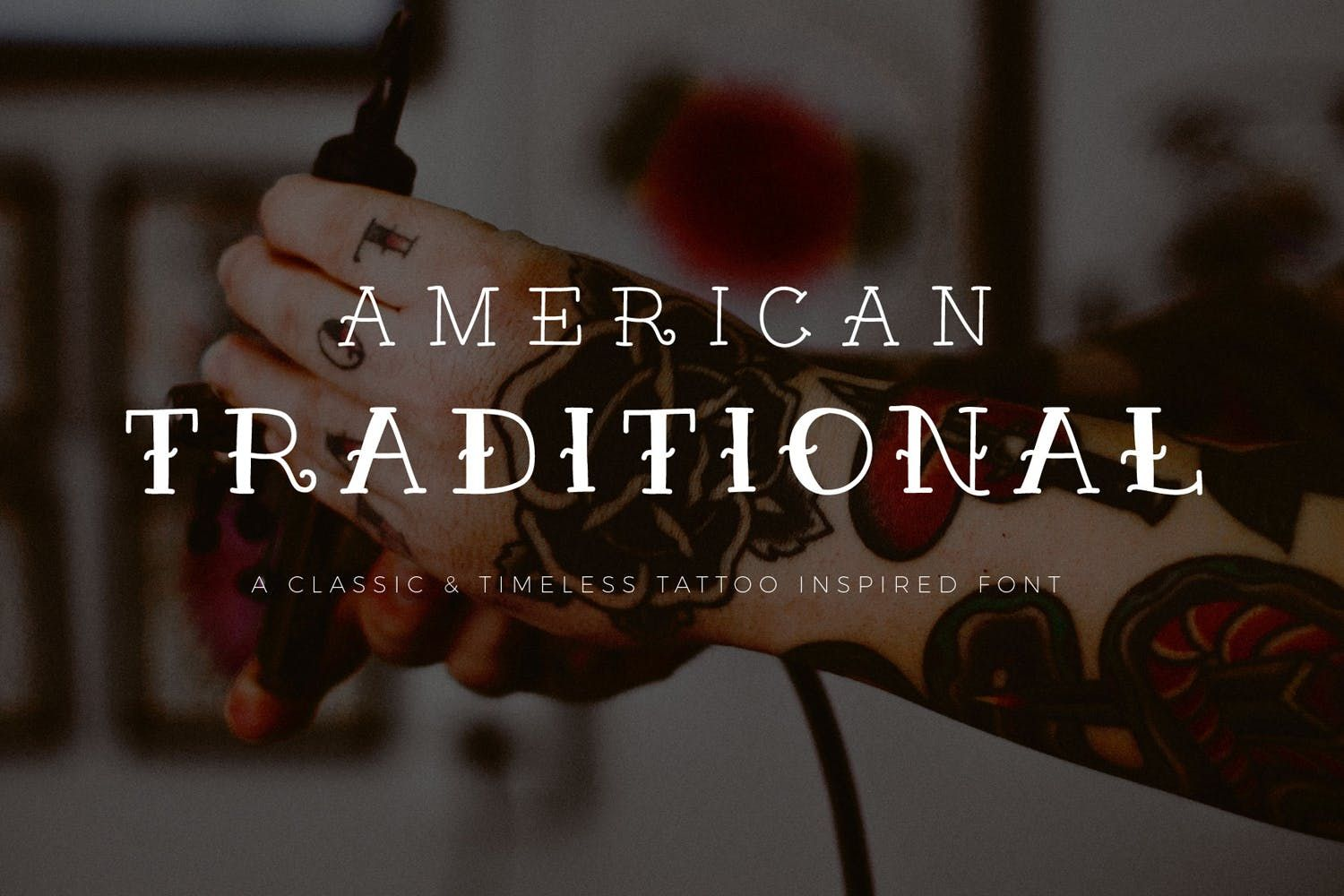American Traditional by thinkmake on American
