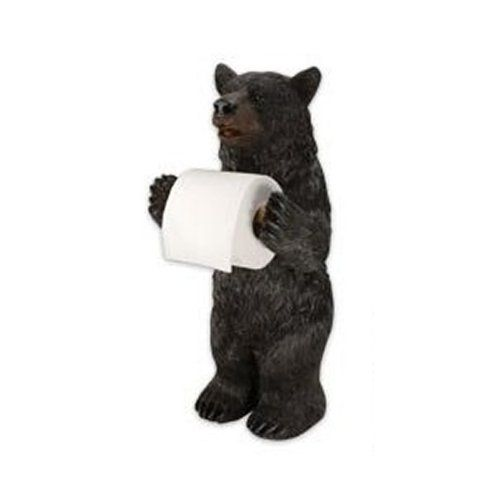 rivers edge products standing bear toilet paper holder river's