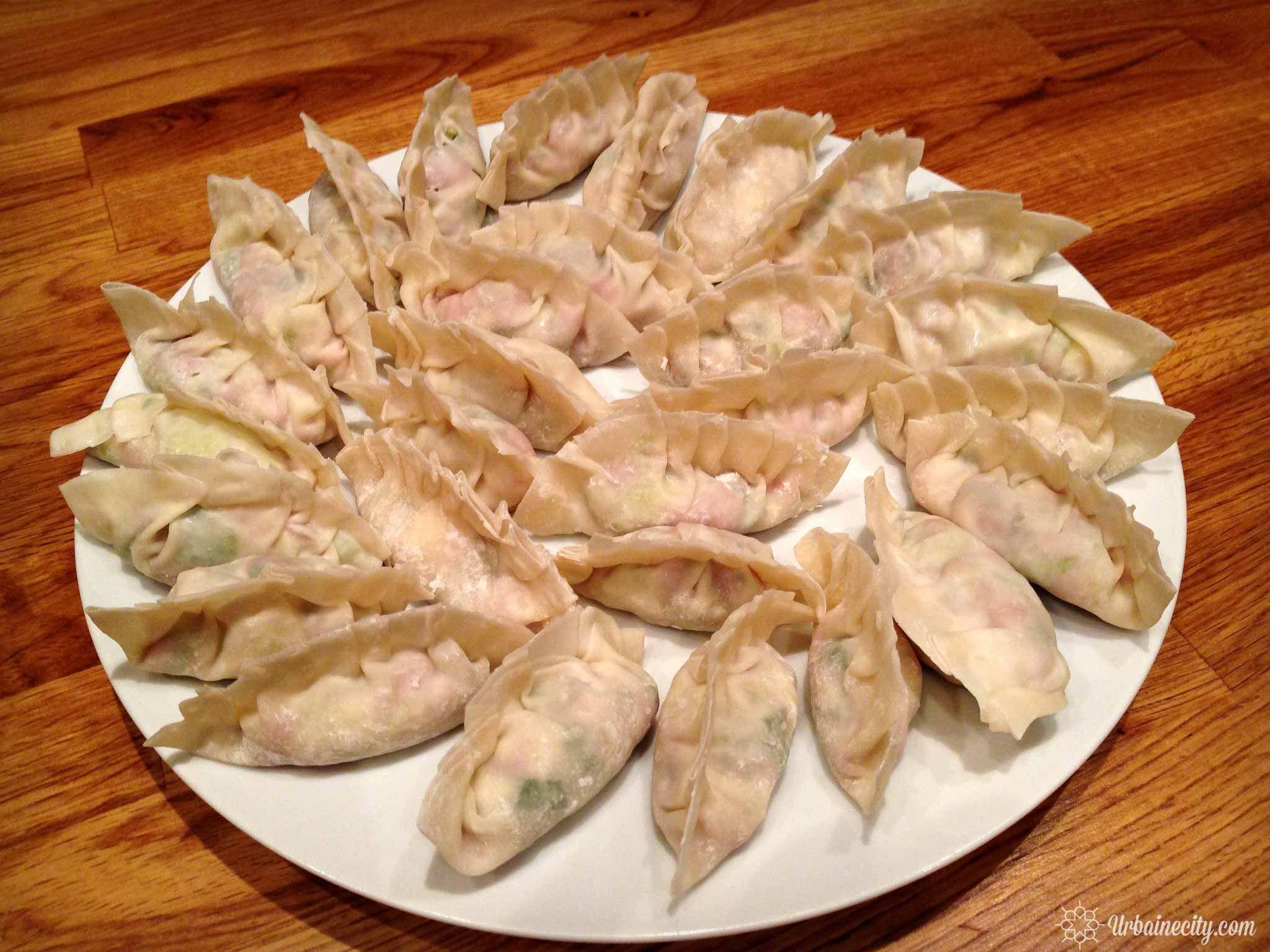 Recette et technique pour faire ses propres dumplings (raviolis chinois)