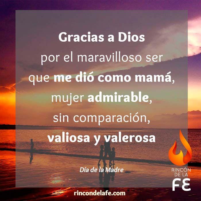 Dia De La Madre Rincón De La Fe Bíblicos Frases Para Madres