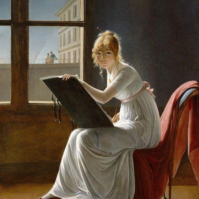 Self Portrait Marie-Denise Villers 1801 | Content in a Cottage
