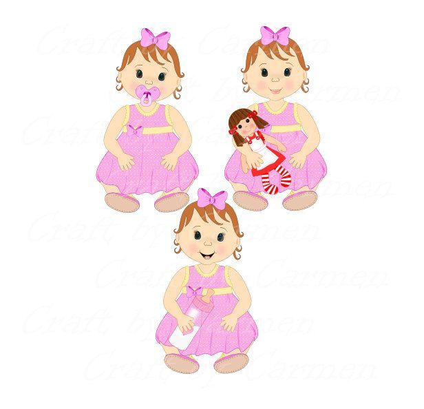 baby girl babies clipart baby shower clip art cute baby digital