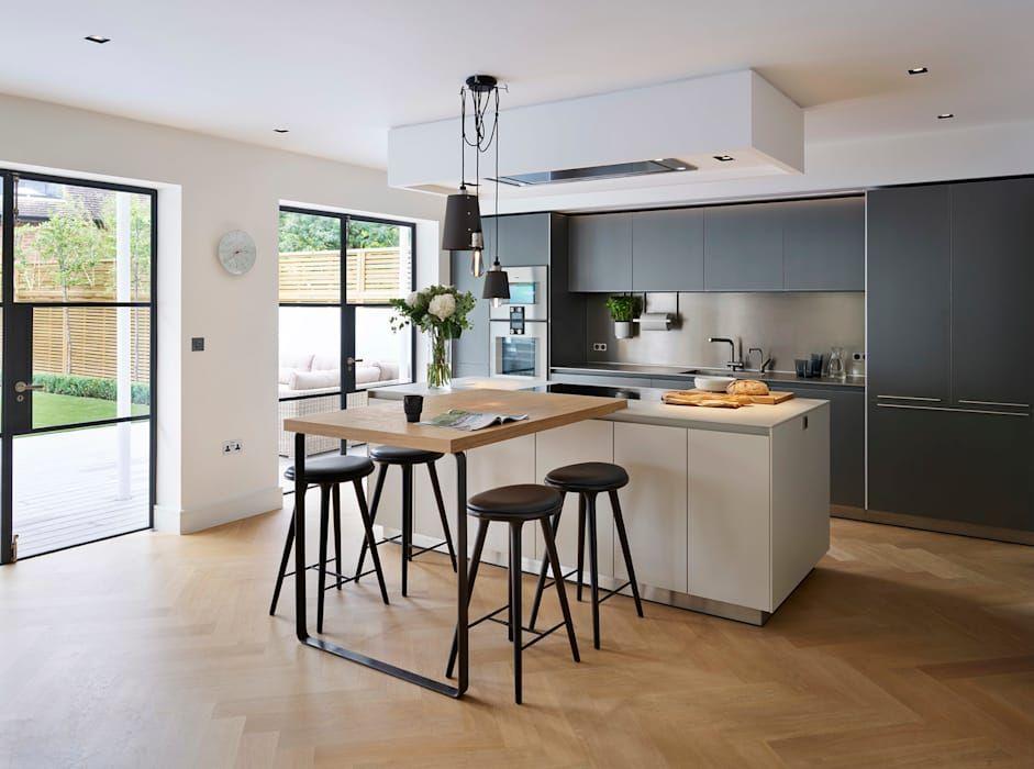 Timeless living kitchen architecture modern kitchen ...