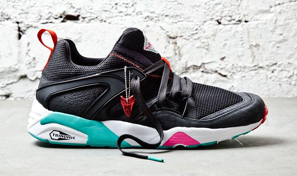 Sneaker Freaker x PUMA Blaze of Glory 'Black Beast